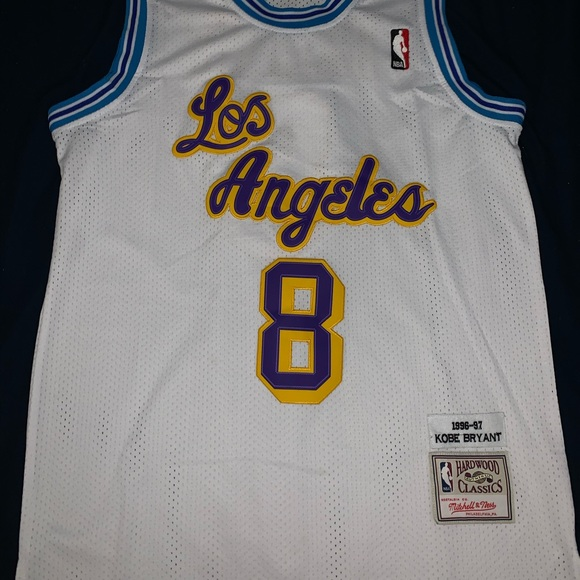 Kobe Bryant 1996-97 Authentic Jersey Lakers